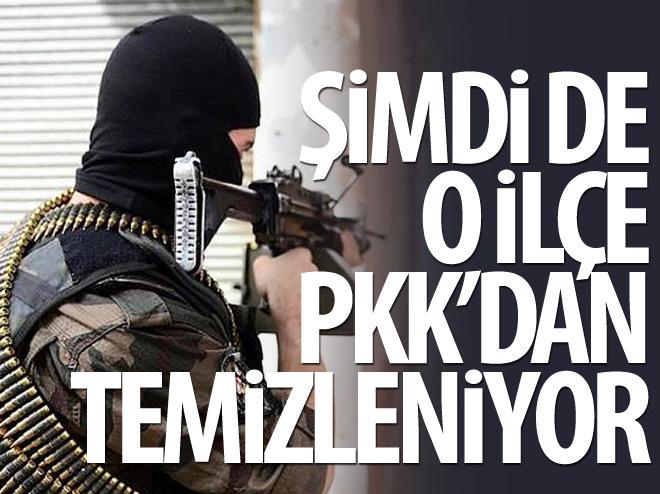 DERİK PKK'LI TERÖRİSTLERDEN TEMİZLENİYOR