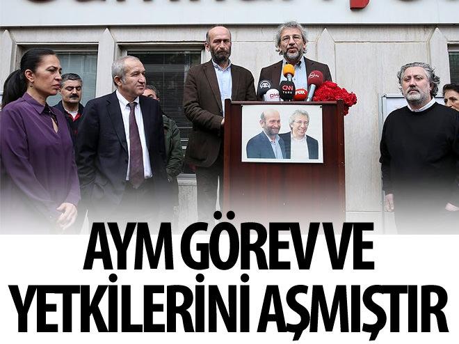"""""""AYM GÖREV VE YETKİLERİNİ AŞMIŞTIR"""""""