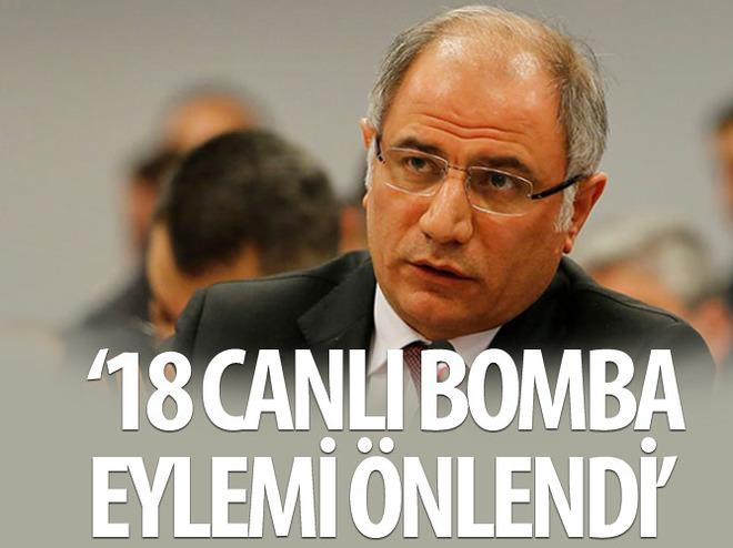 '18 CANLI BOMBA EYLEMİ ENGELLENDİ'