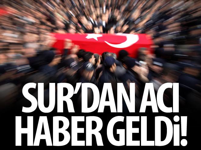 SUR'DAN ACI HABER GELDİ