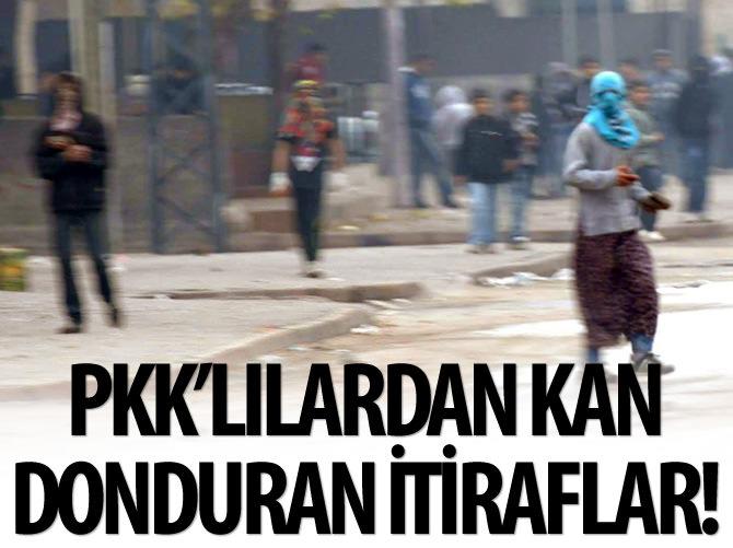 TESLİM OLAN PKK'LILARDAN KAN DONDURAN İTİRAFLAR!
