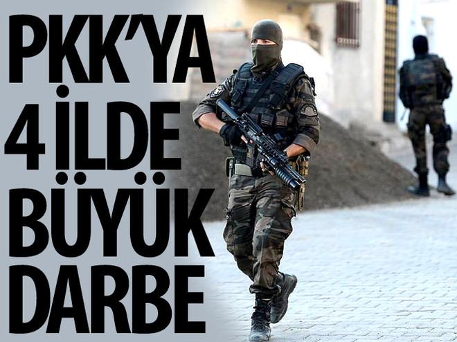PKK'YA 4 ��LDE AĞIR DARBE