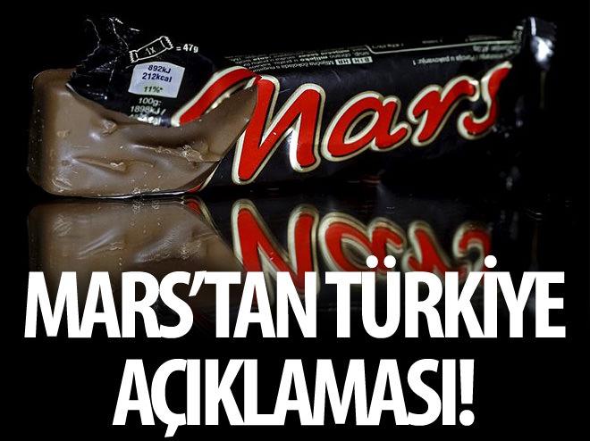 MARS'TAN TÜRKİYE AÇIKLAMASI!