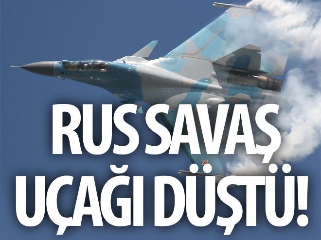 RUS SAVAŞ UÇAĞI DÜŞTÜ!