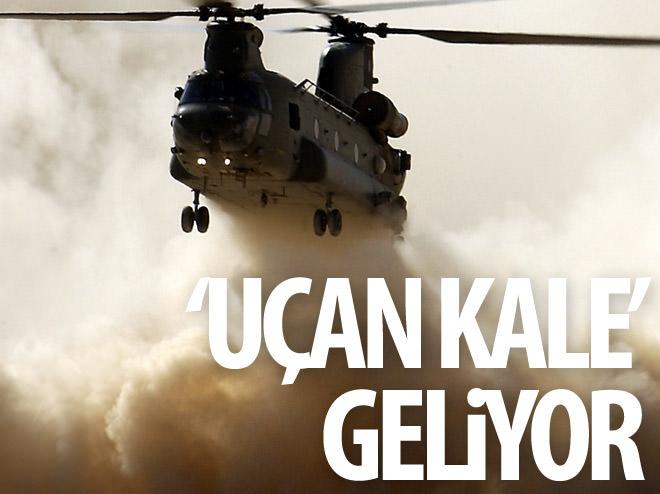 'UÇAN KALE' GELİYOR!