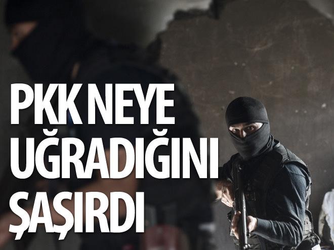 PKK NEYE UĞRADIĞINI ŞAŞIRDI