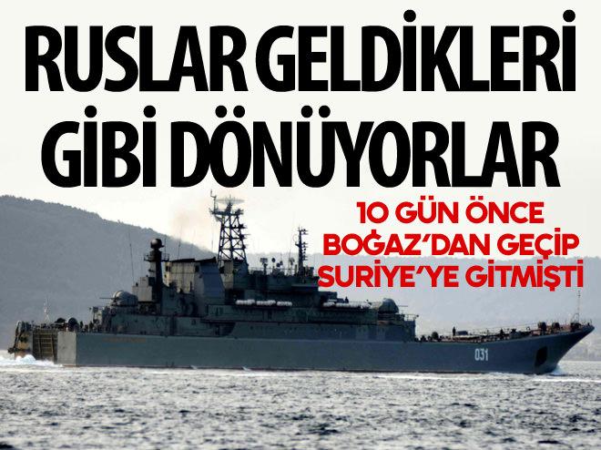 RUSLAR GELDİKLERİ GİBİ GİDİYORLAR!