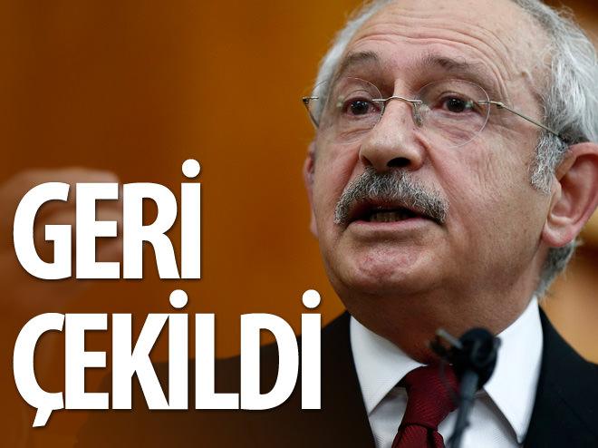 GERİ ÇEKİLDİ!