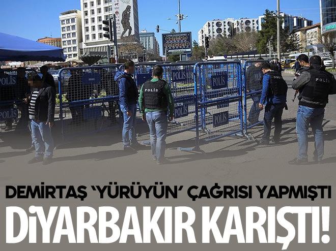 DİYARBAKIR'DA POLİS MÜDAHALESİ