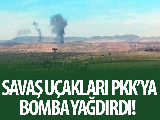 CEHENNEM DERESİ'NDEKİ PKK'LILAR BOMBALANDI
