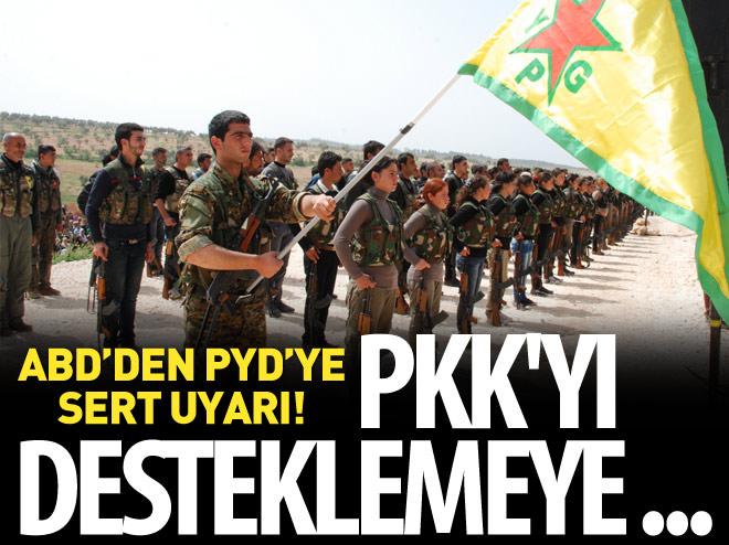 ABD'DEN PYD'YE 'PKK' UYARISI!