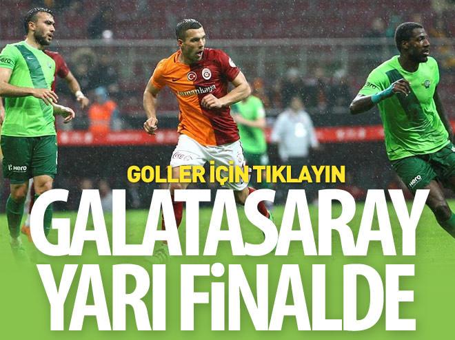 GALATASARAY YARI FİNALDE