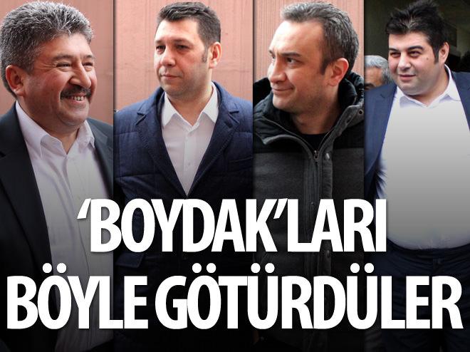 GÖZALTINDAKİ 'BOYDAK'LAR BÖYLE GÖRÜNTÜLENDİ