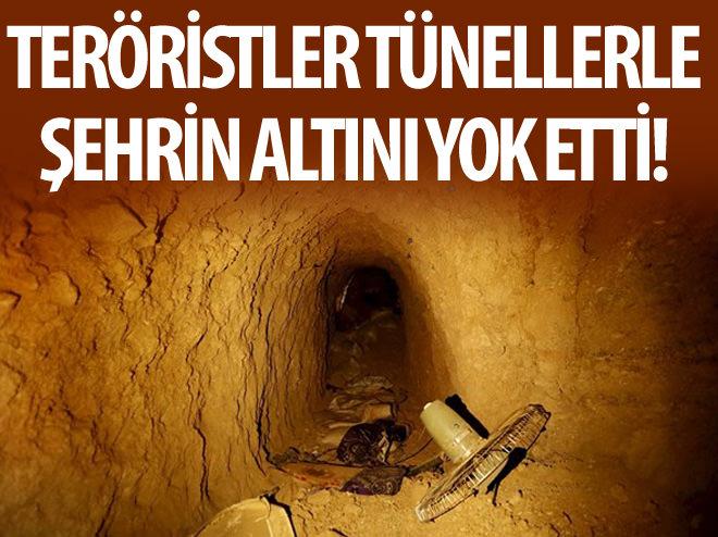 IŞİD'İN GİZLİ TÜNELLERİ ORTAYA ÇIKTI