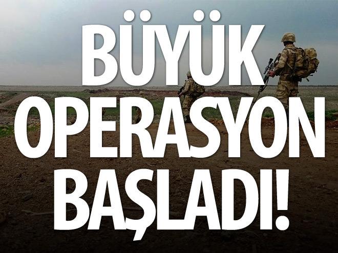 ŞANLIURFA'DA BÜYÜK OPERASYON BAŞLADI!