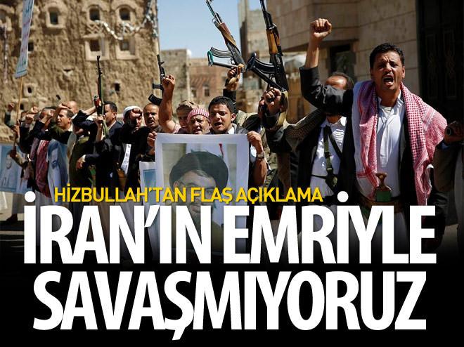 HİZBULLAH: İRAN VEYA SURİYE'DEN EMİR ALMADIK