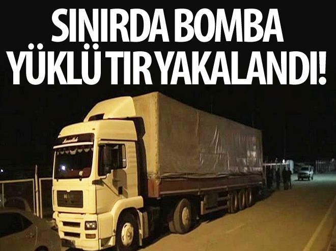 ÖNCÜPINAR SINIR KAPISI'NDA ELE GEÇİRİLDİ!