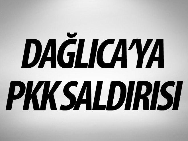 DAĞLICA'YA PKK SALDIRISI GİRİŞİMİ