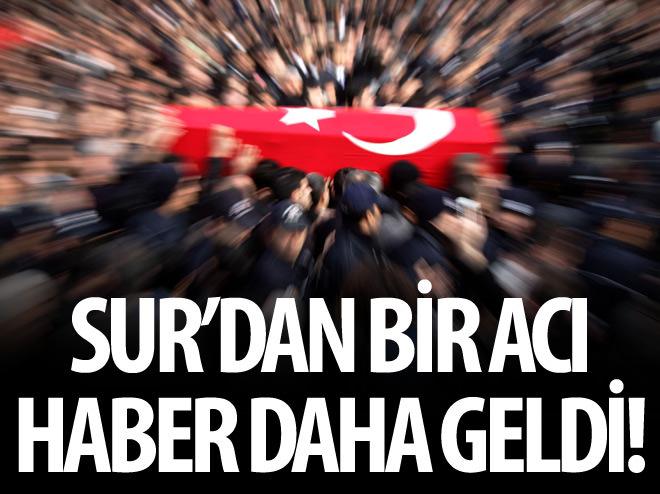SUR'DAN BİR ACI HABER DAHA GELDİ