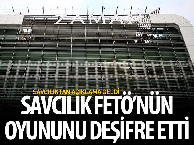 BAŞSAVCI SALİHOĞLU'NDAN 'FEZA GAZETECİLİK' AÇIKLAMASI