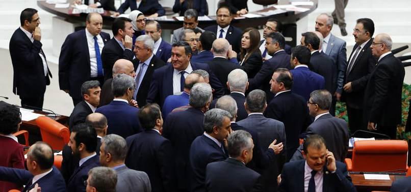 GENEL KURUL'DA 'BESMELE' KRİZİ