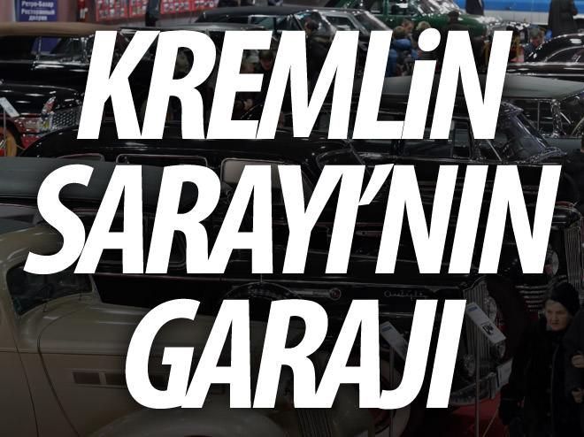 KREMLİN SARAYI'NIN GARAJI