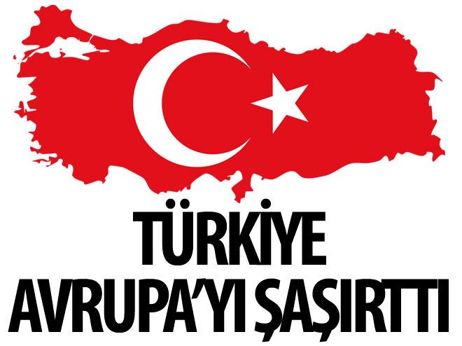 TÜRKİYE'NİN ÖNERİSİ AVRUPA'YI ŞAŞIRTTI