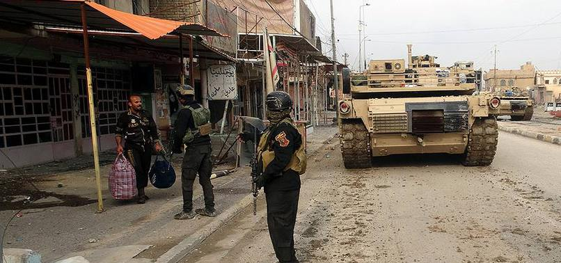 IRAK'IN ZENKURA BÖLGESİ DAEŞ'TEN KURTARILDI