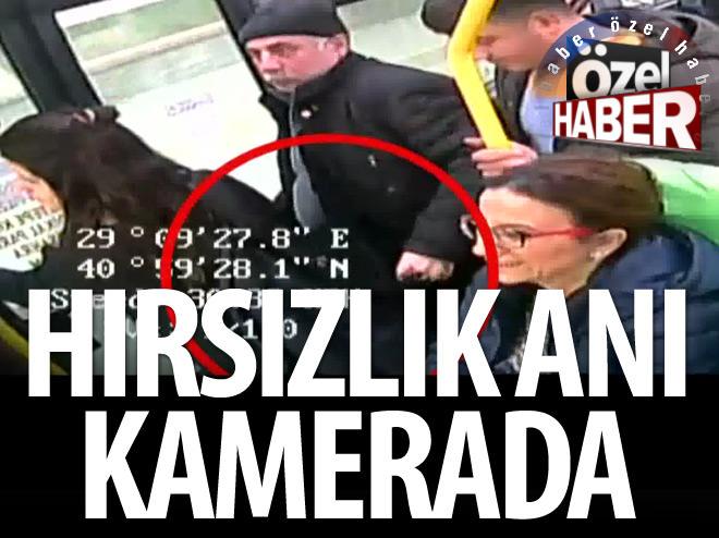 HIRSIZLIK ANI KAMERADA
