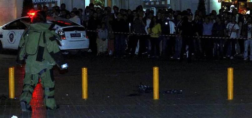 TAKSİM'DE BOMBA PANİĞİ