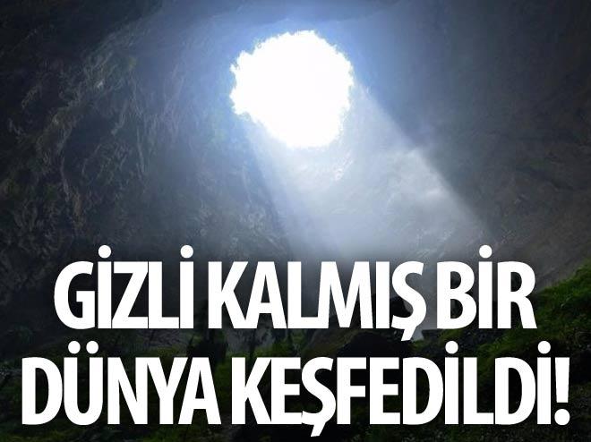 GİZLİ KALMIŞ BİR DÜNYA KEŞFEDİLDİ!