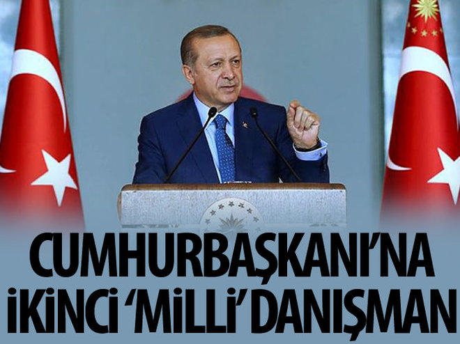 ERDOĞAN'A İKİNCİ 'MİLLİ' DANIŞMAN