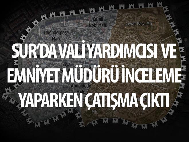 SUR'DA ÇATIŞMA ÇIKTI: 4 PKK'LI ÖLÜ ELE GEÇTİ
