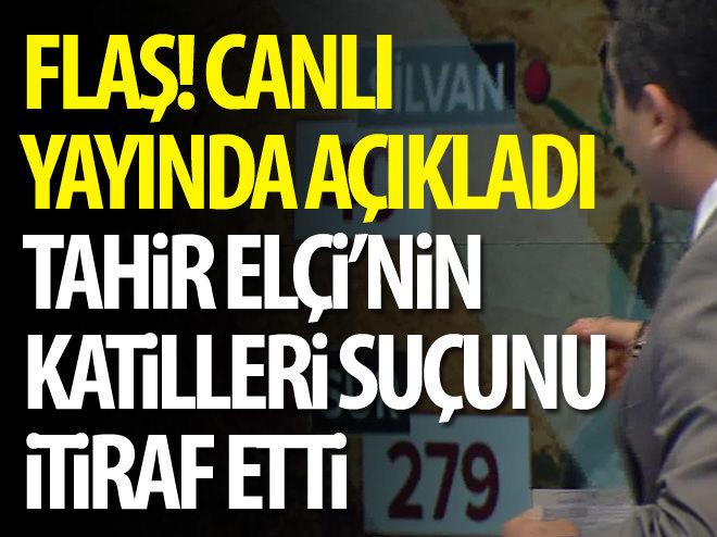 TAHİR ELÇİ'NİN KATİLLERİ SUÇLARINI İTİRAF ETTİ