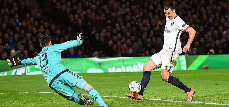 PARİS SAİNT-GERMAİN UEFA ŞAMPİYONLAR LİGİ ÇEYREK FİNALDE