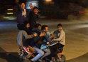 KONYA'DA BİR MOTORSİKLETE 7 KİŞİ BİNDİ