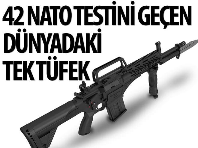 42 NATO TESTİNİ GEÇEN DÜNYADAKİ TEK TÜFEK: MPT-76