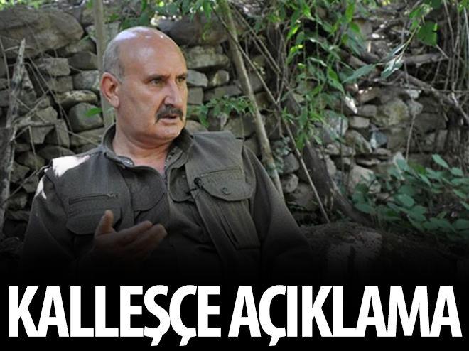 PKK'DAN KALLEŞÇE BİR AÇIKLAMA DAHA!