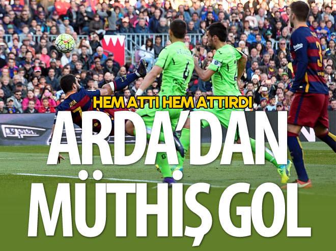 ARDA'DAN MÜTHİŞ GOL