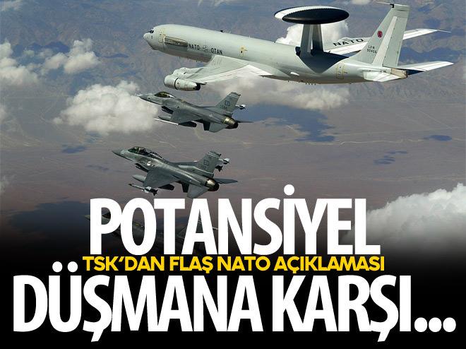 TSK'DAN FLAŞ NATO AÇIKLAMASI!