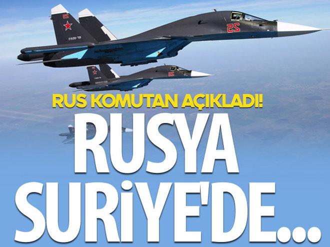 'RUSYA SURİYE'DE TOPLU İMHA FÜZELERİ DENİYOR'