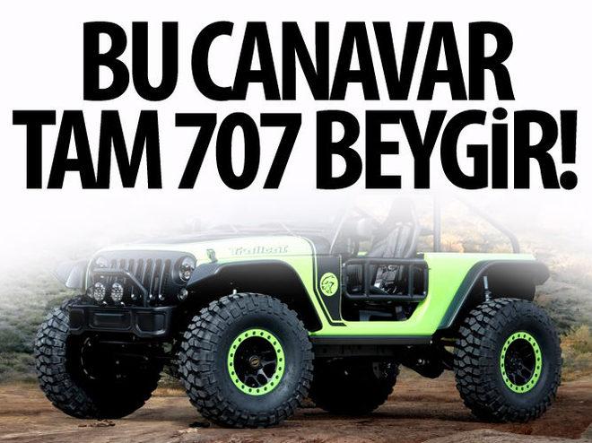 JEEP WRANGLER'DAN 707 BEYGİRLİK CANAVAR
