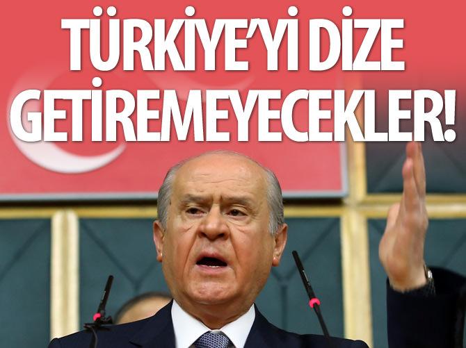 BAHÇELİ, HAİN SALDIRIYI KINADI!