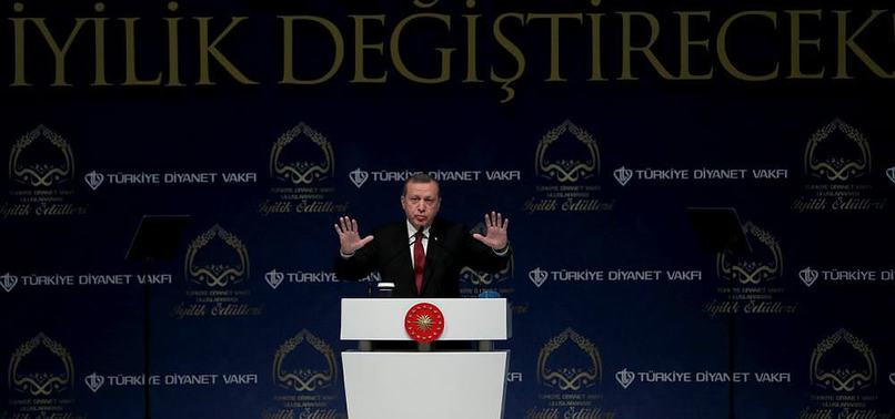 ERDOĞAN: MEDENİYETİMİZİN OLDUĞU YERDE DAİŞ VE PKK OLAMAZ