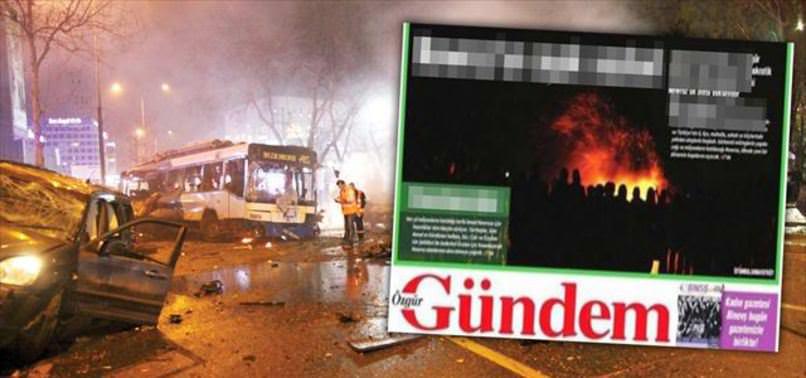 PKK GAZETESİ TERÖRÜ KUTLADI