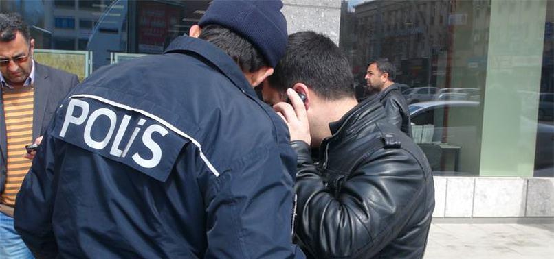 POLİSİ DOLANDIRICI SANIP ALAY ETTİLER