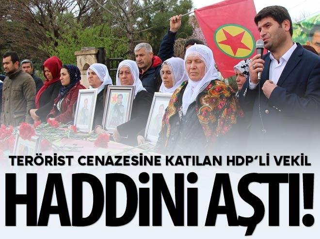 HDP'Lİ VEKİLDEN HADDİNİ AŞAN SÖZLER