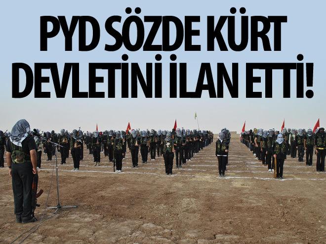 PYD 'KUZEY SURİYE FEDERASYONU' KURUYORMUŞ!