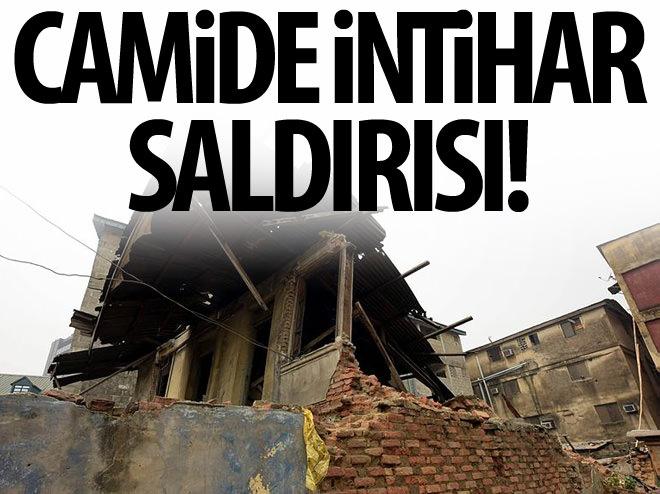 NİJERYA'DA CAMİDE İNTİHAR SALDIRISI