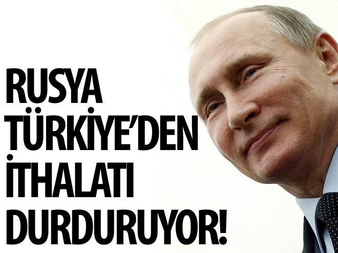 RUSYA, TÜRKİYE'DEN BİBER VE NAR İTHALATINI DURDURACAK